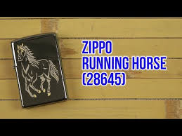 Видеообзор Зажигалка Zippo Running Horse (28645 ... - ROZETKA