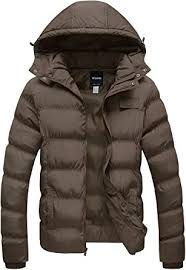 Wantdo <b>Men's</b> Hooded Winter Coat Warm Puffer Jacket <b>Thicken</b> ...