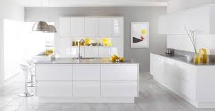 room white contemporary table kitchen
