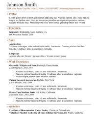 free online resume samples httpgetresumetemplateinfo3609free online resume samples