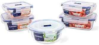 Luminarc Pure Box Active Set of 5 Glass Airtight ... - Amazon.com