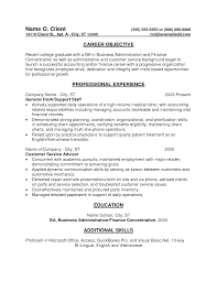 recent accounting graduate resume entry level accountant resume recent accounting graduate resume