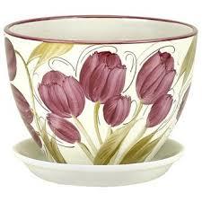 купить оптом РС340/4 <b>керамический горшок</b> для цветов <b>венеция</b> ...