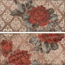 Декор <b>керамогранит Serenissima Chicago</b> Inserto Vintage Roses ...