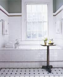 bathroom tile ideas 12: white bathroom tile incredible black and white bathroom tile ideas black white