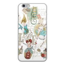 Чехол для iPhone 6, объёмная печать <b>Алиса в стране</b> чудес ...