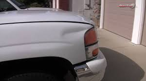 Auto Dent Removal Ride Along Episode 2 Deep Crease Dent Repair Glue Pull
