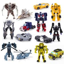 <b>New Arrival Mini Classic</b> Transformation Plastic Robot Cars Action ...