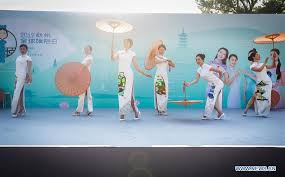 <b>2019</b> Hangzhou Global Qipao Festival held in Vienna - Xinhua ...