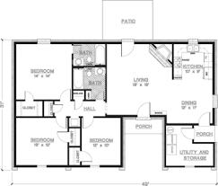 Ranch House Plans Under Sq Ft Ideas   Home Plans    House Plan Story Bedroom   House Plans Home Design Ideas