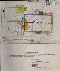 Alexander Craig House Architectural Report Block Building Lot    Composite Plan of Craig House