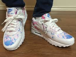 wifes review of the nike air max 1 cherry blossom unbox and on feet cherry air force 1