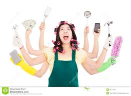 Image result for busy woman image