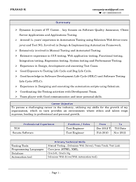 manual testing resume yr exp equations solver prasad selenium driver resume