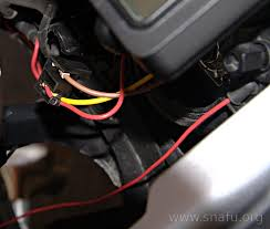 how to wire auxillary lights to high beam adventure rider
