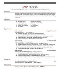 sample of hr assistant resume