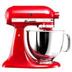 Batidora kitchenaid roja