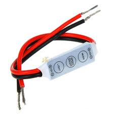 <b>DC12V 12A 3</b> Keys Mini Single Color LED Controller Brightness ...