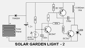 solar garden light circuit schematic diagram   circuit wiring diagramssolar garden light circuit schematic