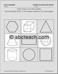 Common Core Math Standards for Kindergarten - Sorting Shapes ...Common Core Math Standards for Kindergarten - Sorting Shapes - Kindergarten Geometry Worksheets - preview 1
