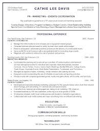 customer service coordinator resume objective resume for event planner tremendous marketing coordinator resume happytom co event manager resume event manager cv