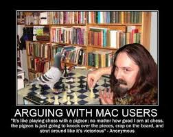 Arguing with Mac users - Funny Images and Memes To Fill You Up ... via Relatably.com