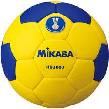 <b>Мяч гандбольный Mikasa HB</b> 3000, синий, желтый, размер 3