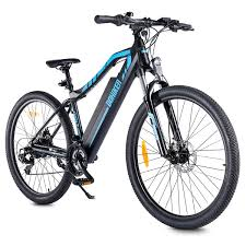 <b>DOHIKER</b> 27.5inch <b>Electric Bicycle</b> with Front Suspension Fork Dual ...