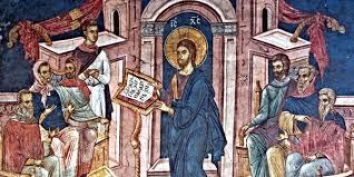 Resultado de imagem para JESUS LÊ NA SINAGOGA