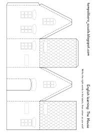 cardboard house patterns printing the plans we ve provided two paper house template awesome definitely want to design some paper nets like this for our printable s section on what would you like to see
