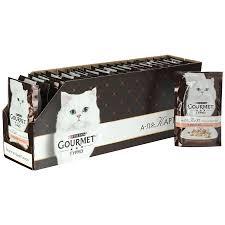 Корм для <b>кошек</b> Gourmet A <b>la</b> Carte с лососем a <b>la</b> Florentine, 24*85г