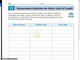 unit personal references for metric length unit 4 9 personal references for metric length