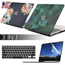 <b>Rubberized Hard Case Shell</b> +Keyboard Skin+LCD for MacBook Air ...