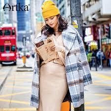 <b>ARTKA</b> 2018 New City Series <b>Autumn&Winter</b> Double Breasted ...