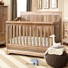 bertini pembrooke 4 in 1 convertible crib natural rustic baby nursery decor furniture uk