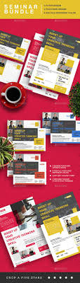 best ideas about event flyers flyer design seminar event flyer bundle