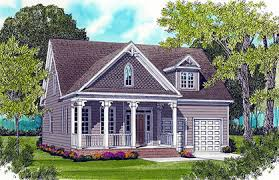 Colonial Style House Plans  amp  Cottage House Plans With Porches