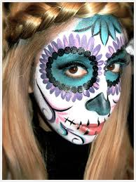 day of the dead makeup via trinketsinbloom awesome diy makeup