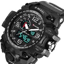 EEEkit - <b>SMAEL</b> Men's Sports <b>Watch</b> Analog <b>Digital</b> Quartz Military ...