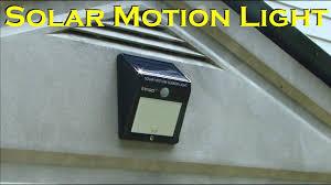 <b>Solar</b> Powered Motion Sensing 12 <b>LED Waterproof Light</b> - Innoo Tech