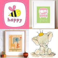 baby nursery wall art for babys nursery cute sketch carton and pictures bee happy bus baby nursery cool bee animal