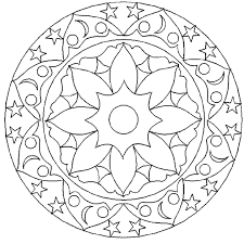 Small Picture Mandala Coloring Pages Online Coloring Coloring Pages
