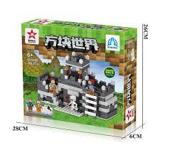 <b>Qunlong</b>-0505 Toys 2 in 1 My World Minecrafted <b>City Building</b> ...