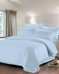 Комплект постельного белья Страйп-сатин (голубой s), купить по ...