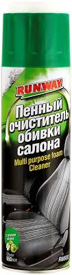<b>Очиститель обивки</b> RUNWAY <b>салона</b> пенный 650мл – купить в ...