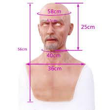 <b>Artificial Simulated Fake Silicone</b> Europe Man <b>Face</b> Human Skin For ...