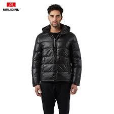 <b>MALIDINU New</b> Winter Down Jacket <b>Men</b> Warm Down Coat 70 ...