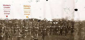 Interactive Photo: Abraham Lincoln at Gettysburg | History ...