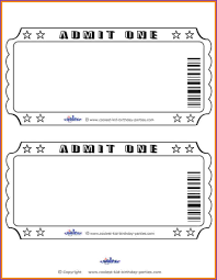 ticket template invoice template receipt template certificate ticket template jobproposalideascom ticket template ticket template admit one invitations blank ticket template