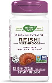 <b>Reishi</b> / 100 Caps - Nature's Way®.